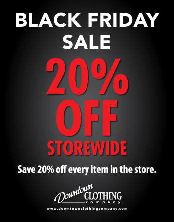 In-store Black Friday sale